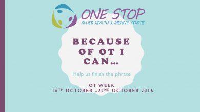 OT Week (16th October 2016 – 22nd October 2016)