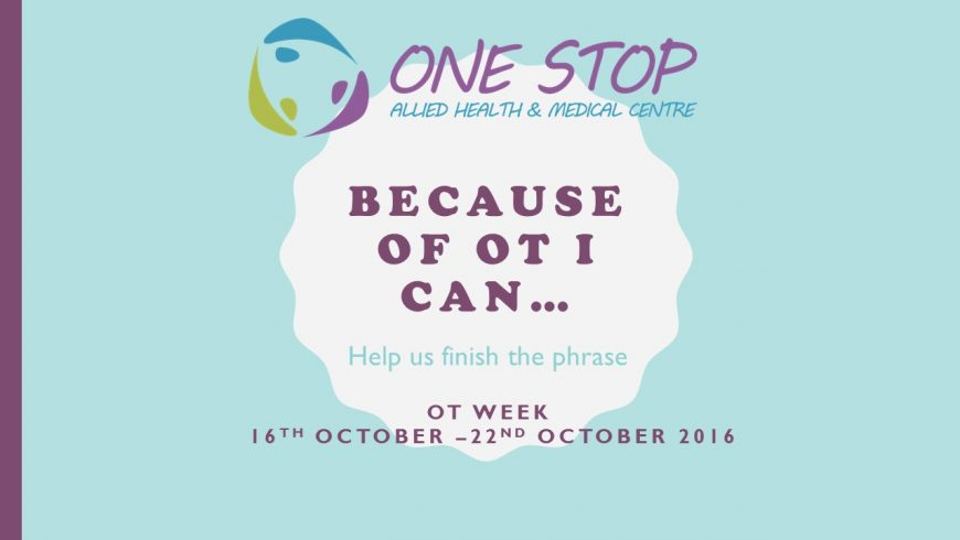 OT Week (16th October 2016 – 22nd October 2016)